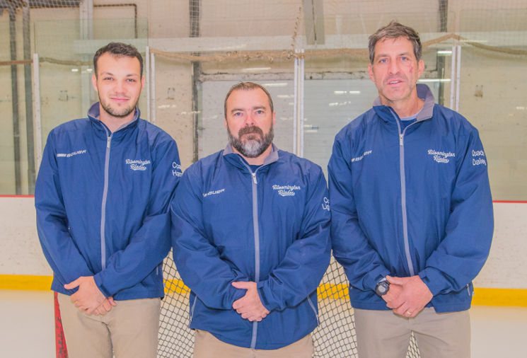 Blades Coaching Staff 2017-18